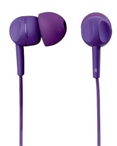 Thomson slúchadlá s mikrofónom EAR3005,silikónové štuple,fialové