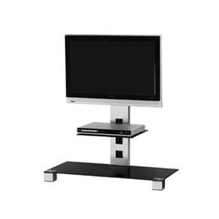 """Stolík pre TV Sonorous PL 2500 C-INX, max. 42""""a 30kg, nerez"""