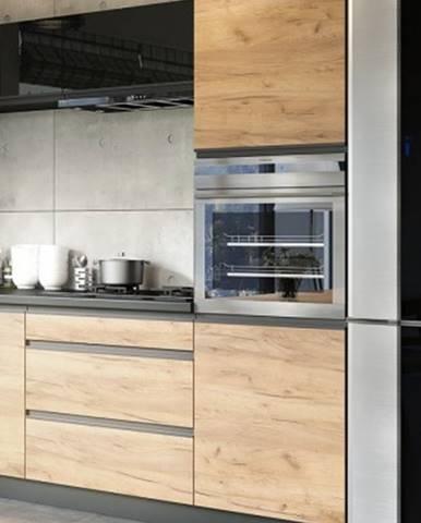 Vysoká skrinka na vstavanú rúru ku kuchyni Brick
