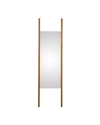 Stojacie zrkadlo z masívneho dubového dreva Canett Uno, 46,6×170 cm