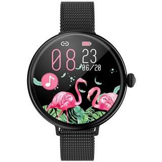 Inteligentné hodinky Immax Lady Music Fit čierne