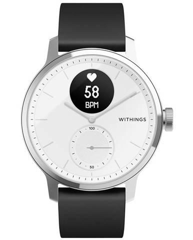 Inteligentné hodinky Withings Scanwatch 42 mm biele