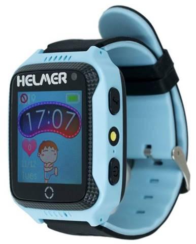 Inteligentné hodinky Helmer LK 707 dětské s GPS lokátorem modrý