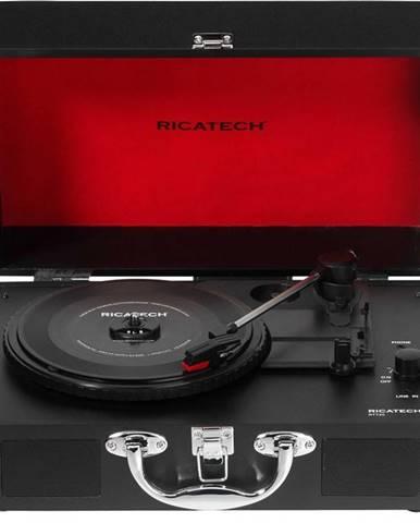 Gramofón Ricatech RTT20 Revolution čierny/červen