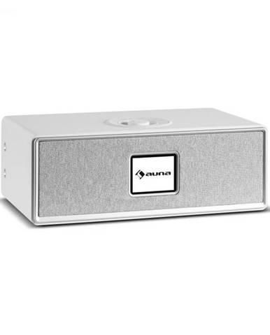 Auna Simpfy Wireless, reproduktor, DAB+/FM, BT, LCD-displej, drevené telo