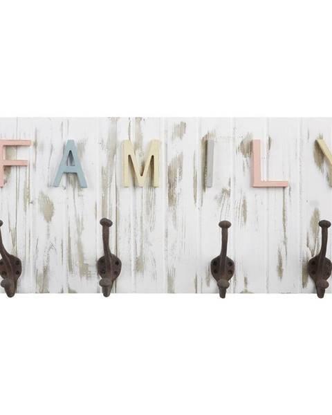 Möbelix Nástenný Vešiak Family 17