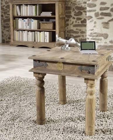 CASTLE Konferenčný stolík 45x45 cm, palisander