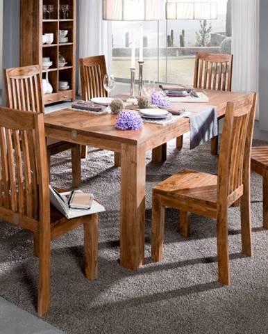 KOLINS Jedálenský stôl 120x120 cm, akácia
