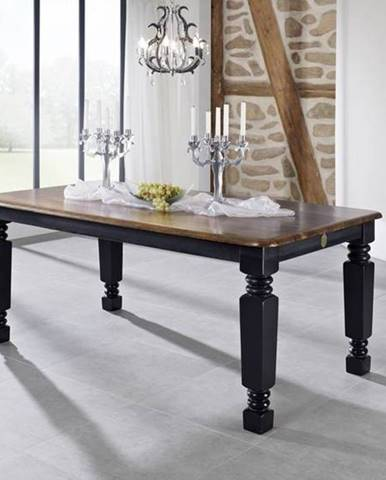 KOLONIAL Jedálenský stôl 160x90 cm, palisander