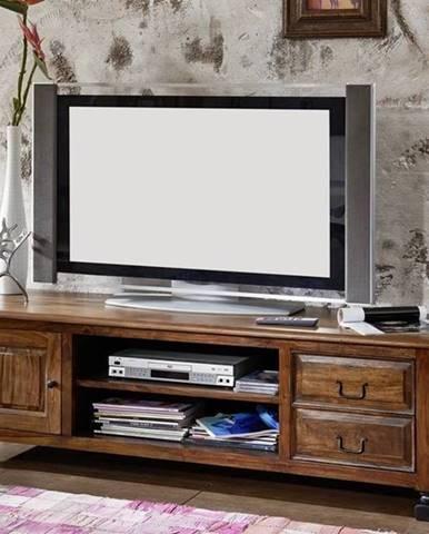 KOLONIAL TV stolík 175x52 cm, palisander
