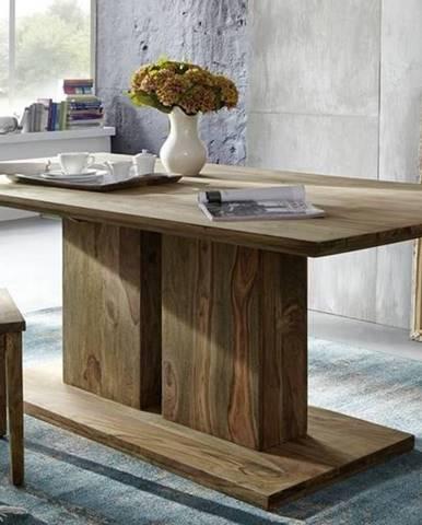 NATURAL Jedálenský stôl Simple 220x100 cm, palisander