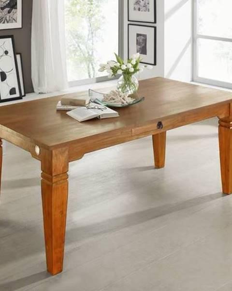 Bighome.sk CAMBRIDGE HONEY Jedálenský stôl 260x100 cm, akácia