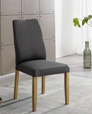 VIENNA Jedálenská stolička, tmavošedá