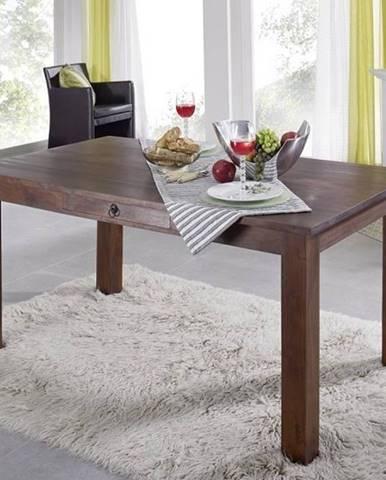 CAMBRIDGE Jedálenský stôl so šuplíkom 160x90 cm, akácia