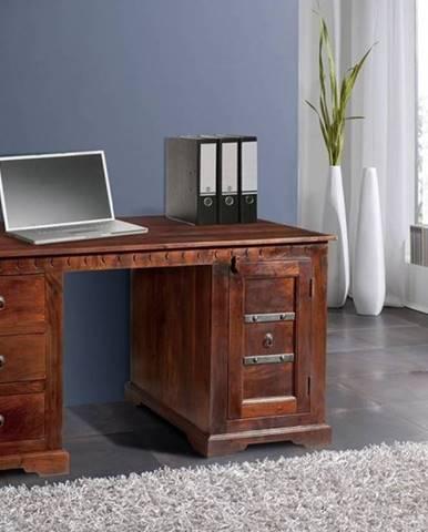 CAMBRIDGE Písací stôl 150x85 cm, akácia