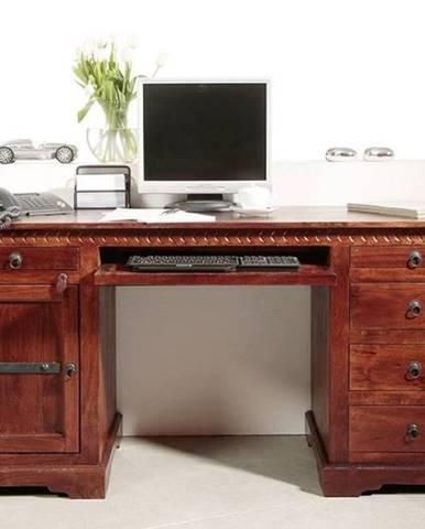CAMBRIDGE Písací stôl 158x54 cm, akácia