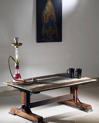 OLDTIME Konferenčný stolík 120x70 cm, staré drevo