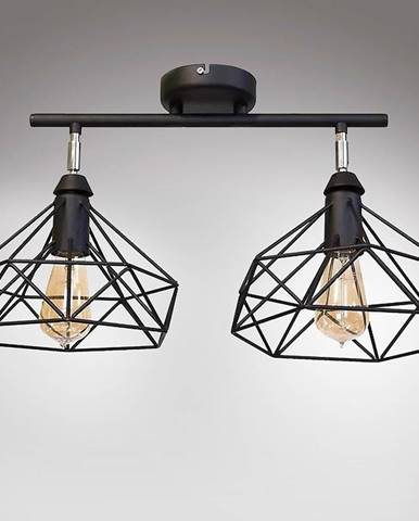 Lampa Szach 2711/Z-B-2 čierna Lw2