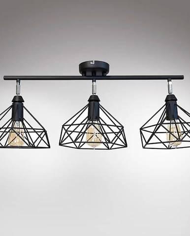 Lampa Szach 2712/Z-B-3 čierna Lw3