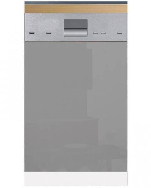 MERKURY MARKET Skrinka do kuchyne Gardena D45FZN dvierka na umývačku 570 X 446 grey