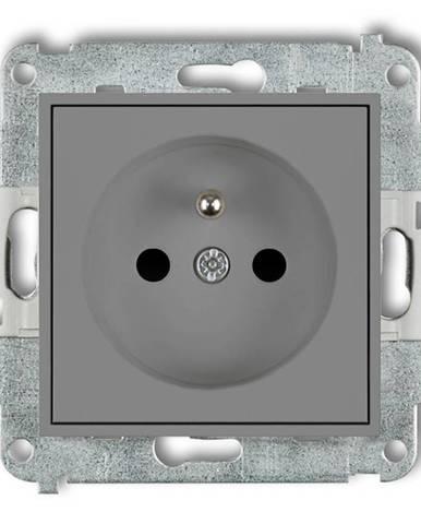 Zásuvka jednoposteľová Z/U sivy mat 27MGP-1ZP