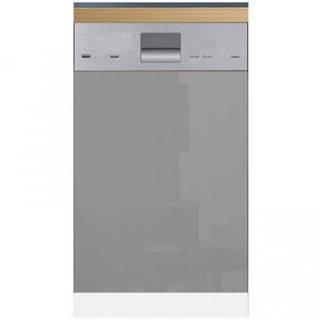 Skrinka do kuchyne Gardena D45FZN dvierka na umývačku 570 X 446 grey