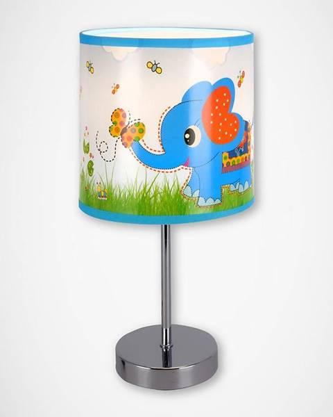 MERKURY MARKET Stolná lampa Nuka E14 blue 03649 LB1
