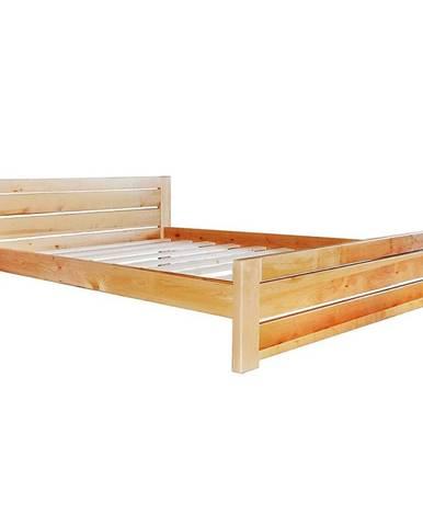 Posteľ Oliwia 180 dreva jelša