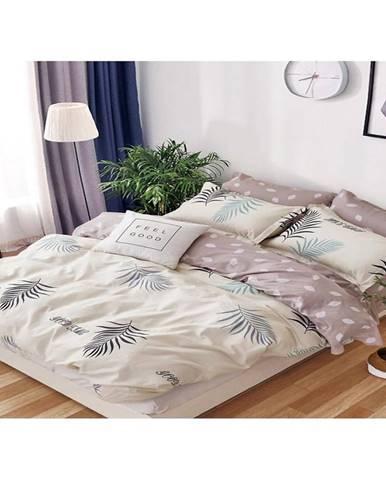 Bavlnená saténová posteľná bielizeň albs-0995b/2 140x200 lasher