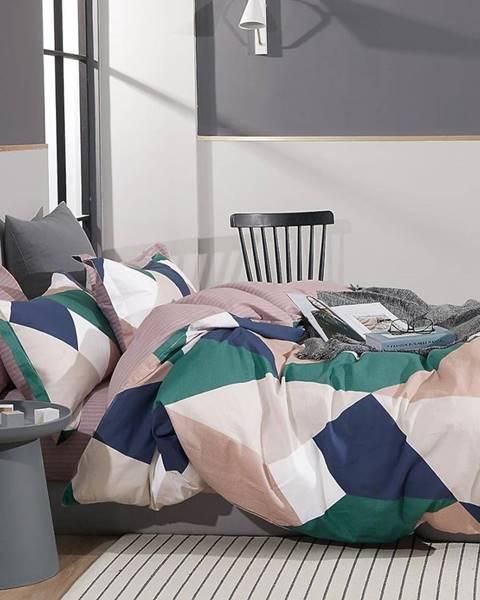 MERKURY MARKET Bavlnená saténová posteľná bielizeň ALBS-01219B 200X220