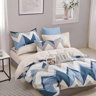 Bavlnená saténová posteľná bielizeň ALBS-01225B 200X220