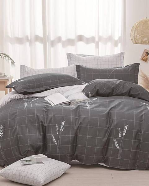 MERKURY MARKET Bavlnená saténová posteľná bielizeň ALBS-01214B