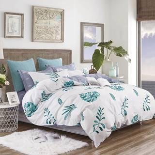 Bavlnená saténová posteľná bielizeň ALBS-01176B/3 200x220
