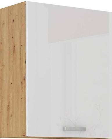 Skrinka do kuchyne ARTISAN biela lesklá 60G-72 1F