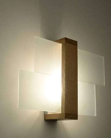 Nástenná lampa Luizjana 1 NATURAL W