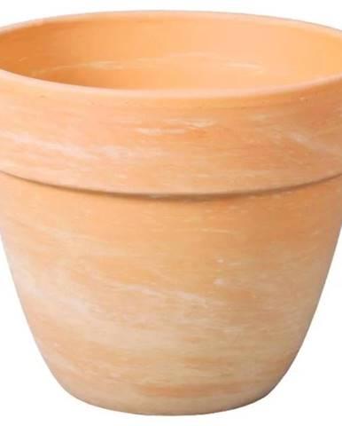Kvetináč Levante keramický béžový melír d35x29 cm