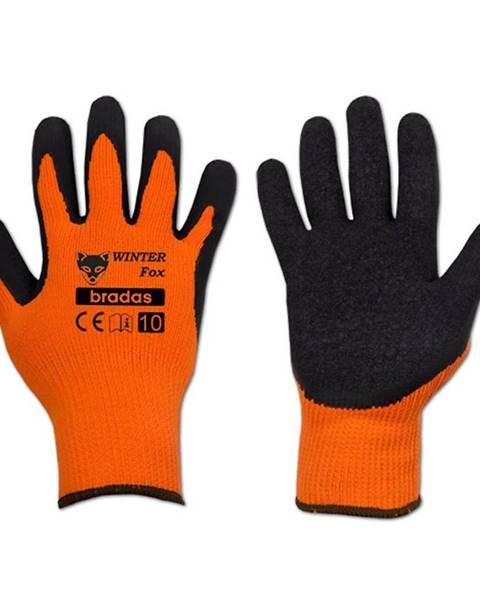 MERKURY MARKET Ochranné rukavice Winter fox veľkosť 10