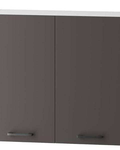 MERKURY MARKET Skrinka do kuchyne Clara W80 sivý grafit/artisan