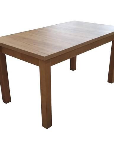 Jedálenský stôl ST28 140x80+40 dub wotan CC