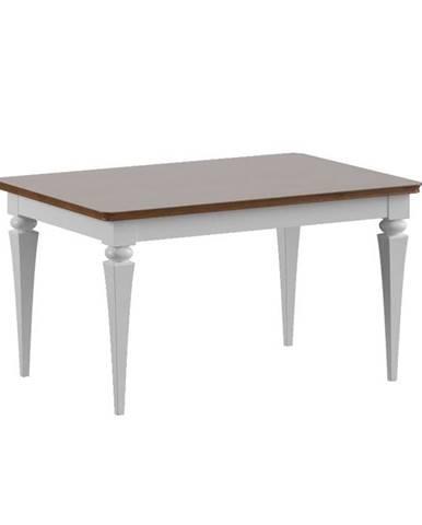 Torino TO-S2 konferenčný stolík biely vysoký lesk