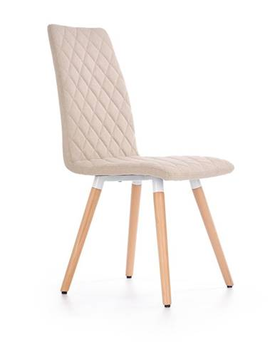 K282 jedálenská stolička béžová