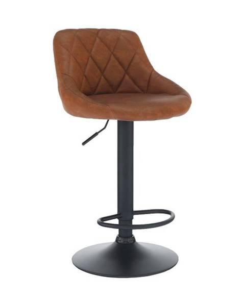 Tempo Kondela Terkan barová stolička koňaková