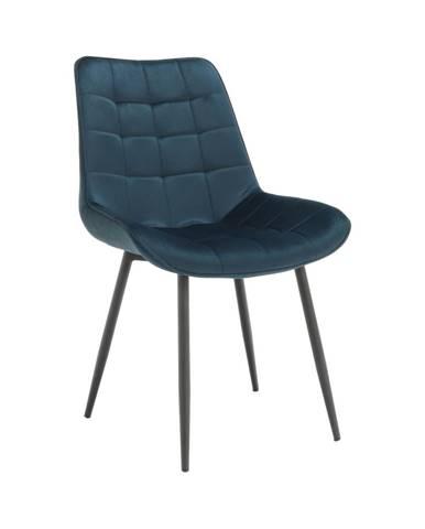 Sarin jedálenská stolička modrá