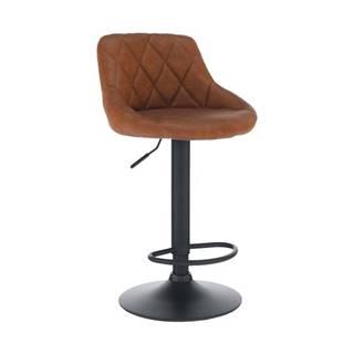 Terkan barová stolička koňaková