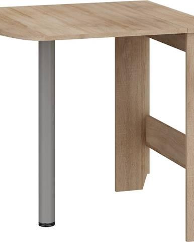 Expert 6 skladací jedálenský stôl sonoma svetlá