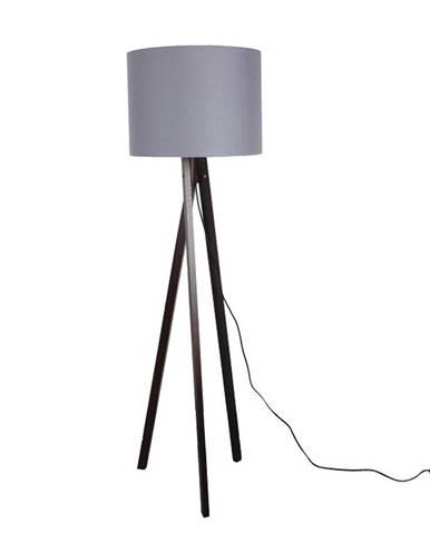 Lila Typ 10 stojacia lampa sivá