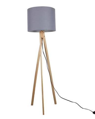 Lila Typ 7 stojacia lampa sivá