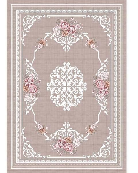 Kondela Sedef koberec 80x150 cm svetlohnedý
