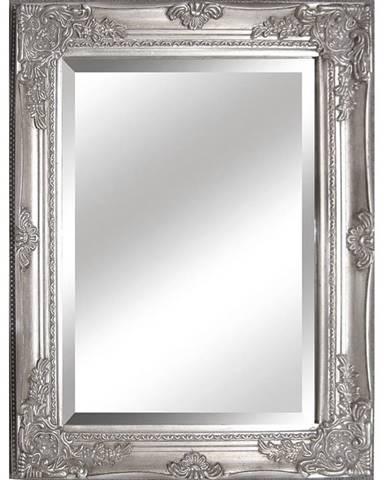 Malkia Typ 6 zrkadlo na stenu strieborná