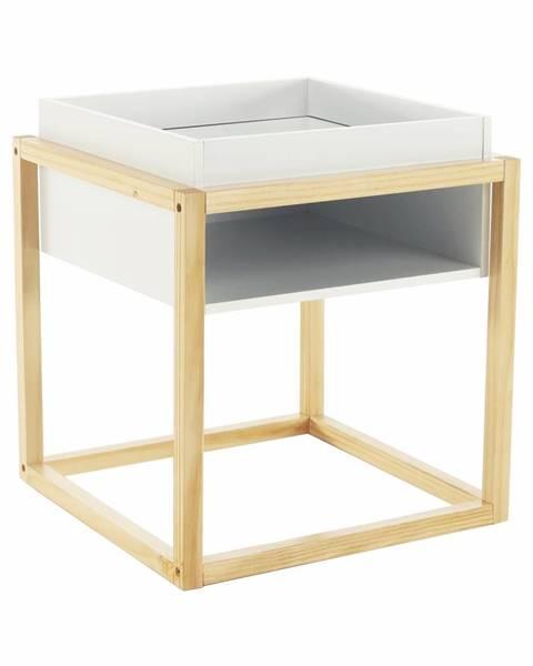 Kondela Hagan príručný stolík biela